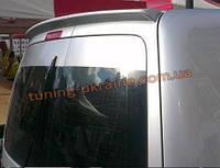 Анатомичный спойлер без стопа под покраску узкий 2 двери на Volkswagen Caddy 1996-2004