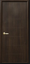 Рина - Каштан (60, 70, 80, 90см). Коллекция PLUS. Межкомнатные двери Новый Стиль