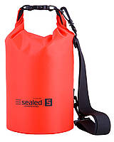 Сумка/мешок SEALED водонепроницаемая Красный, 5 литров
