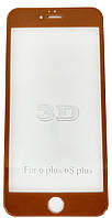 Защитное стекло iPhone 6/6S Plus + (0.3 мм, 3D, полное, с олеофобным покрытием, Silk Screen)