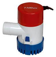 Помпа трюмная электрическая 1100 gph для выкачки воды из лодки