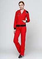 4217 Спортивный костюм женский красный: imprezz.com.ua