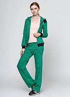 4216 Спортивный костюм женский зеленый: imprezz.com.ua