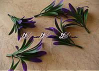Добавка травка с фиолетовыми кончиками 3 яруса