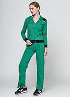 4218 Спортивный костюм женский зеленый: imprezz.com.ua