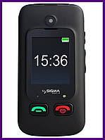 Телефон Sigma mobile Comfort 50 Shell Duo (BLACK). Гарантия в Украине 1 год!