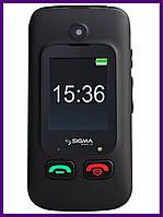 Телефон Sigma mobile Comfort 50 Shell Duo (BLACK). Гарантия в Украине 1 год!