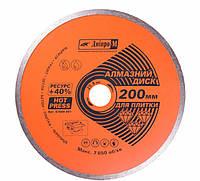 Алмазный диск Дніпро-М Плитка 200*25,4 мм