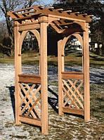 Арка Прованс-1 садовая для вьющих растений деревянная