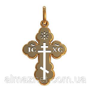 Крестик из золота  Архангельский