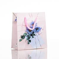 Пакет подарочный 10х9см (материал  ПЭ)