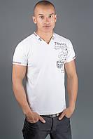 Мужская футболка Грэт р. 44-58 белый