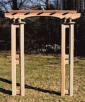 Арка Портал-3 садовая для вьющих растений деревянная