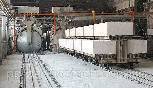 Процес виробництва газобетону