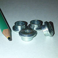 Втулка резьбовая специальная М6 оцинкованная производство ТАНТАЛ сталь 45