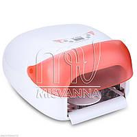 УФ лампа для ногтей 36 Вт Professional Nail WE-705 с датчиком движения и вентилятором