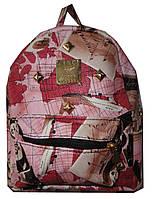 Рюкзак для девочки карман карта панда