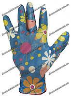 Женские перчатки стрейчевые покрытые гладким латексом Rgarden, фото 1