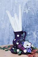 Салфетница-кувшин с росписью