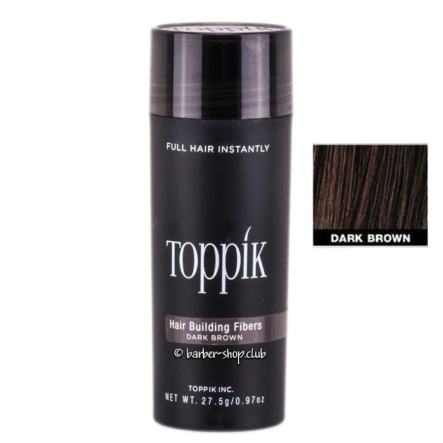 Загуститель для волос Toppik 27.5 гр. Dark brown