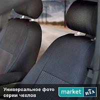 Модельные чехлы на сиденья Renault Logan 2004-2008 (Virtus) Компл.: Полный комплект (5 мест)