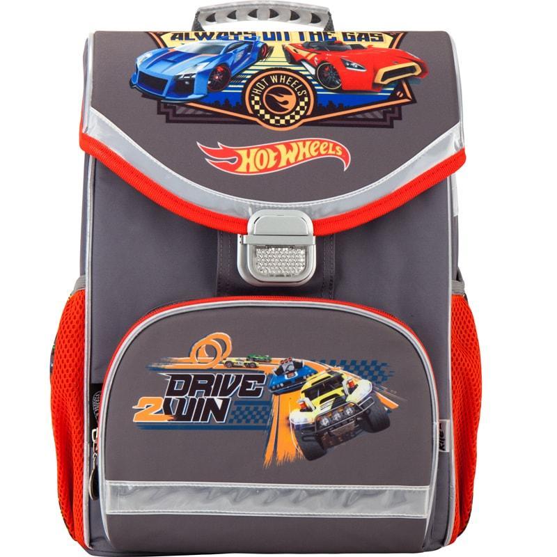 Рюкзак шкільний каркасний Kite 529 Hot Wheels