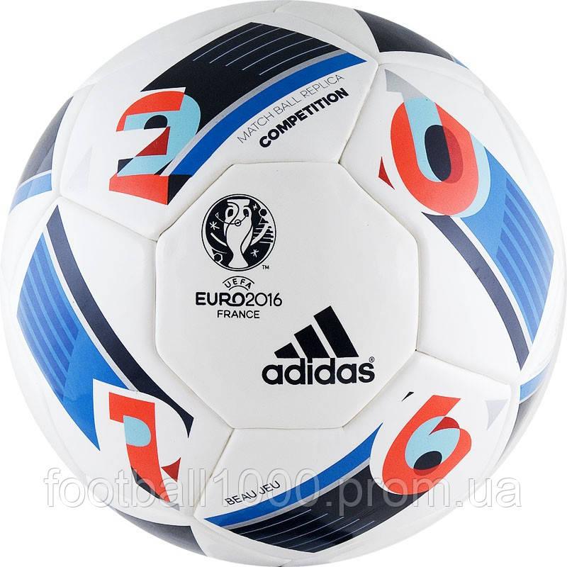 Футбольный мяч Adidas Beau Jeu EURO 2016 Competition AC5418