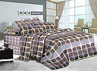 Полуторное постельное белье Тоффи, сатин 100%хлопок