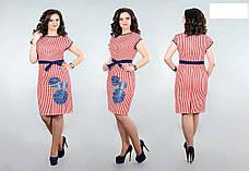 Летнее платье из натурального хлопка Разные цвета