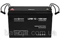 Аккумулятор мультигелевый LogicPower 12V - 100 Ah LPM