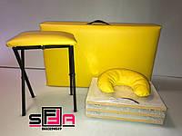 Набор 4в1 SOFFA (кушетка этажерка стул подушка )