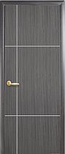 Ника silver - Грей New (60, 70, 80, 90см). Коллекция PLUS. Межкомнатные двери Новый Стиль