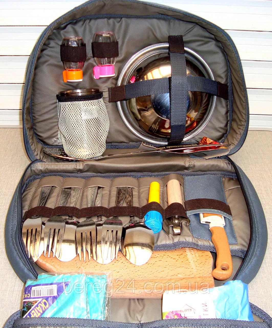 Набор посуды для пикника на 4 персоны Camping