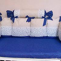 Детский комплект постельного белья с бортиками купить в херсоне