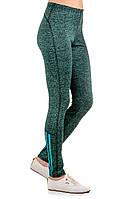 Спортивные лосины женские обтягивающие леггинсы трикотажные