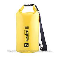 Сумка/мешок SEALED водонепроницаемая Желтый, 15 литров