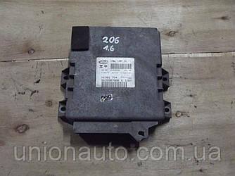 Блок управления двигателем 9639907880 1.4 8V pe Peugeot 206 1998-2006