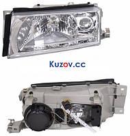 Фара передняя Skoda Octavia '00-09 левая (DEPO) электрич., H4+H3, без корректора 1U2941017D