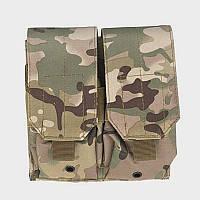 Подсумок для магазинов M4/AK74 двойной - мультикам, фото 1