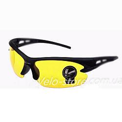 Спортивные очки Oulaiou, желтые линзы