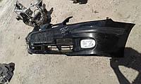Бампер передний nissan almera n16 черный
