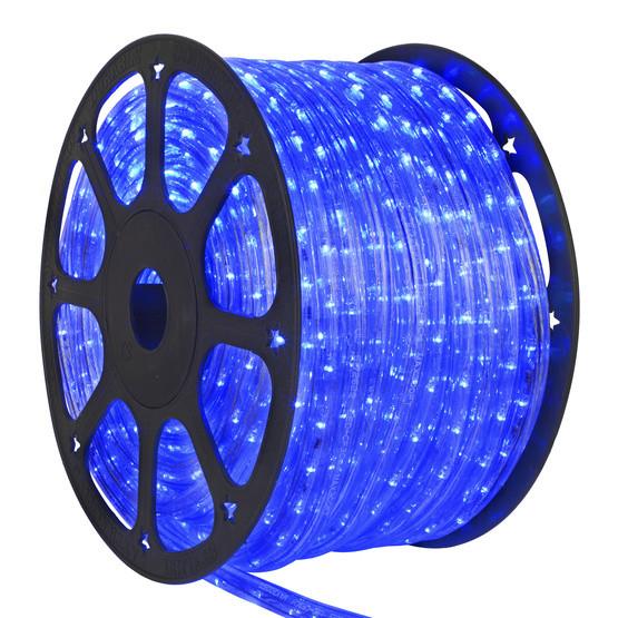 Светодиодный дюралайт синий