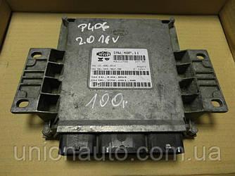 Блок управления двигателем 2.0 16V pe Peugeot 206 1998-2006