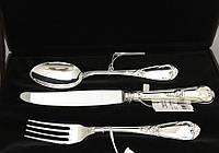 Серебряный десертный набор на 1 персону АГ-2.95.0100