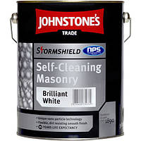 Самоочищающееся покрытие краска для фасада Stormshield Self- Cleaning Masonry JOHNSTONE`S (Джонстоун)