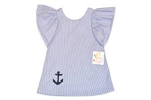 Платье детское  « Морячка»