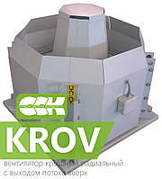 Вентилятор крышный радиальный с выходом потока вверх KROV