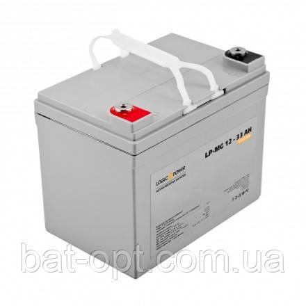Аккумуляторная батарея LogicPower 12V-33Ah LP-MG мультигелевый