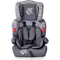 Детское автокресло  KIDDY(от 9 до 36 кг) - Bertoni - Болгария - ткань сидения капиллярная (дышащая) dark&light grey