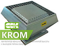 Крышный радиальный вентилятор малой высоты в шумоизолированном корпусе KROM-S-4,5 0,310